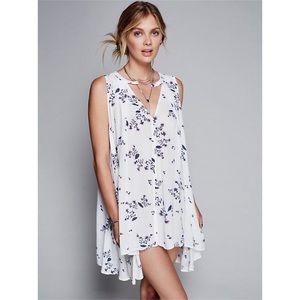 Free People Snap Put Of It Floral Swing Dress